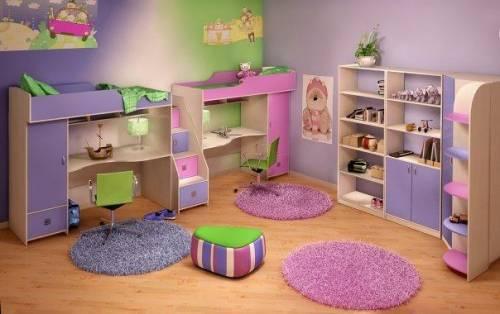 дизайн детской комнаты маленького размера
