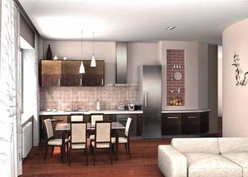 Кухни с колонкой: кухонная мебель на заказ в восточном стиле, проекты для